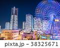 横浜 みなとみらい 夜景の写真 38325671