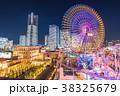横浜 みなとみらい 夜景の写真 38325679