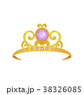Beautiful princess crown decorated with round 38326085
