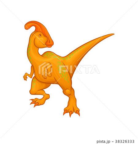 Cartoon parasaurolophus character. Fantastic 38326333