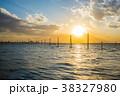 江川海岸 海 夕日の写真 38327980
