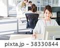 ビジネスウーマン ビジネス パソコンの写真 38330844