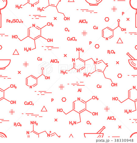 Seamless pattern with scientific, education 38330948