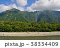 山 風景 川の写真 38334409
