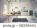 style kitchen interior. 38336441