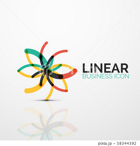 Outline minimal abstract geometric linear business 38344392