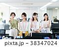 ビジネスウーマン 女性 オフィスの写真 38347024