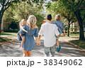 パーク 公園 ファミリーの写真 38349062