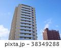 マンション 建物 空の写真 38349288