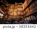 渋温泉 温泉 夜の写真 38353442