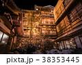 渋温泉 温泉 夜の写真 38353445