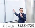 教授 男性 講義の写真 38354725