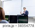 教授 男性 講義の写真 38354778