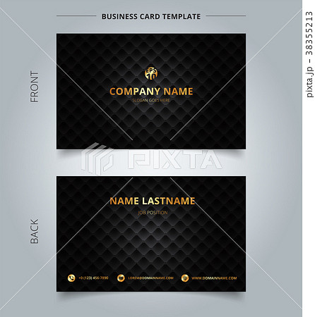 creative business card and name card template blueのイラスト素材