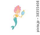 マーメイド マーメード 人魚のイラスト 38355408