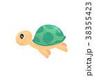 かめ カメ 亀のイラスト 38355423