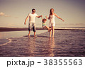 ビーチ 浜辺 ファミリーの写真 38355563