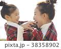 公園で遊ぶ女の子 38358902