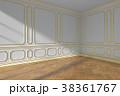 空間 部屋 フローリングのイラスト 38361767