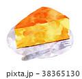 チーズケーキ・皿つき 38365130