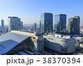 街並み 街 ビルの写真 38370394