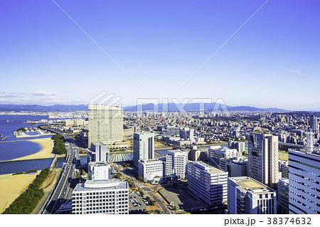 美しい福岡の街並み 38374632