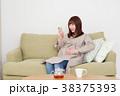 女性 人物 妊婦の写真 38375393