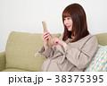 女性 人物 妊婦の写真 38375395