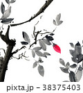 水彩画 花 樹木のイラスト 38375403