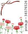 カーネーション 母の日 花のイラスト 38376526