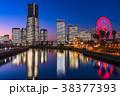 横浜 みなとみらい 全館ライトアップの写真 38377393