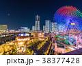 《神奈川県》横浜みなとみらい・全館ライトアップ夜景 38377428