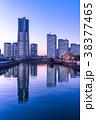 《神奈川県》横浜みなとみらい・全館ライトアップ夜景 38377465