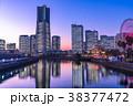 横浜 みなとみらい 全館ライトアップの写真 38377472