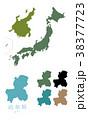 日本地図_都道府県_岐阜 38377723