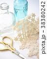 手芸用品とガラス瓶 38380242