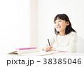 勉強 宿題 子供の写真 38385046