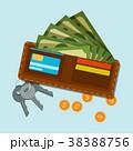 お金 通貨 金のイラスト 38388756