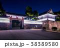 東京 皇居 桜田門の夜景 38389580