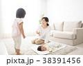 遊ぶ 親子 母親の写真 38391456