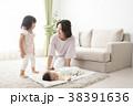 遊ぶ 親子 母親の写真 38391636