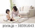 遊ぶ 親子 母親の写真 38391643