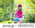 自転車 子 子供の写真 38395352