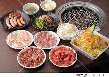 焼肉 韓国料理 集合 38397218