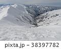 山 冬山 風景の写真 38397782
