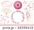 桜 フレーム ベクターのイラスト 38399419