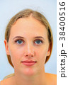 顔 女性 外国人の写真 38400516