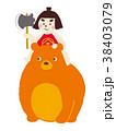金太郎 子供の日 端午の節句のイラスト 38403079