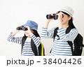 親子 子供 女の子の写真 38404426