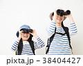 親子 子供 女の子の写真 38404427
